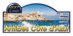 plaque RALLYE ANTIBES 2017