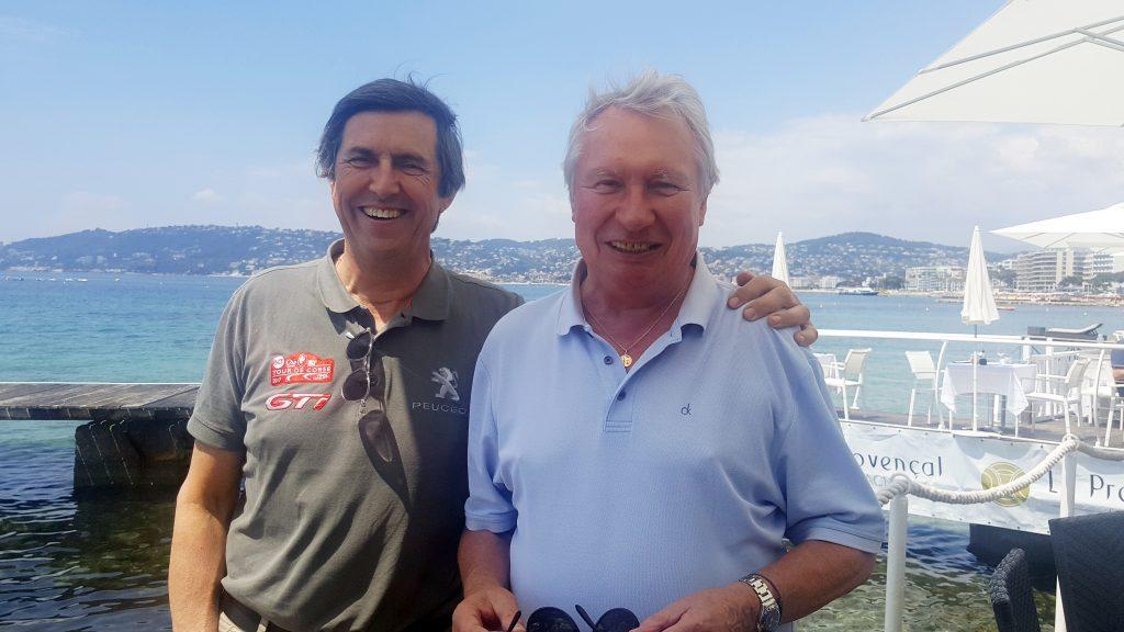 François Chatriot, the Guest of the 2018 Antibes Rallye Côte d'Azur !