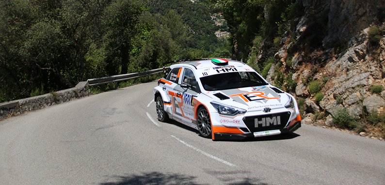 Tour European Rally at the 2018 Antibes Côte d'Azur Rally
