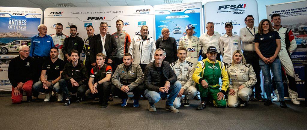 2019 Rallye Antibes Côte d'Azur Press Conference