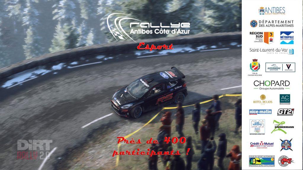 Jonathan Schaeffer, Vainqueur du 1er Esport Rallye Antibes Côte d'Azur