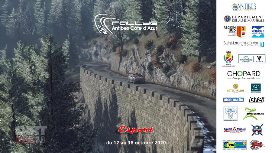 1er Rallye Antibes Côte d'Azur Esport !