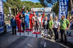 VHC Podium during the 2018 French rally championship, rallye d'Antibes Cote D'Azur from May 18 to 20  at Antibes, France - Photo Thomas Fenetre / DPPI