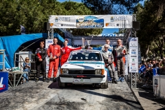 VHC podium ambiance during the 2018 French rally championship, rallye d'Antibes Cote D'Azur from May 18 to 20  at Antibes, France - Photo Thomas Fenetre / DPPI