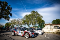 01 BONATO Yoann et BOULLOUD Benjamin, Citroen C3 R5, ambiance during the 2019 French rally championship, rallye d'Antibes from May 17 to 19  at Antibes, France - Photo Thomas Fenetre / DPPI