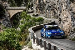 03 GILBERT Quentin et GUIEU Christopher, Volkswagen Polo R5, action during the 2019 French rally championship, rallye d'Antibes from May 17 to 19  at Antibes, France - Photo Thomas Fenetre / DPPI