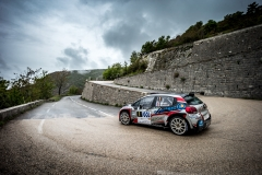 01 BONATO Yoann et BOULLOUD Benjamin, Citroen C3 R5, action during the 2019 French rally championship, rallye d'Antibes from May 17 to 19  at Antibes, France - Photo Thomas Fenetre / DPPI